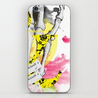 howl iPhone & iPod Skins featuring Howl  by Stephanie Trevania