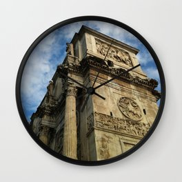 Arch Of Constantine, View 2 Wall Clock