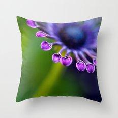 Teaspoon Flower Throw Pillow
