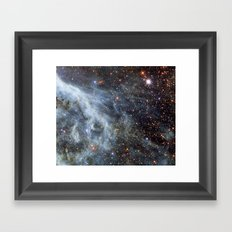 Magellanic cloud Framed Art Print