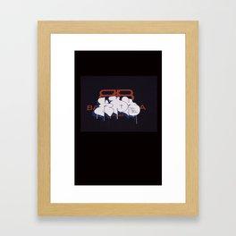 kbh t Framed Art Print