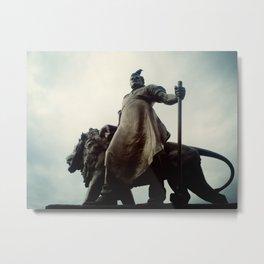 Monument. He Metal Print
