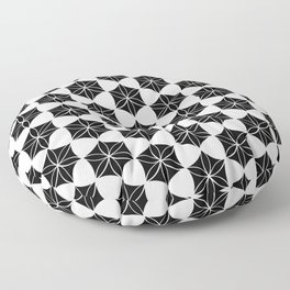 Flower of Life-Moroccan mosaic Floor Pillow