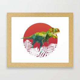 Party Tyrannosaurus Rex Framed Art Print