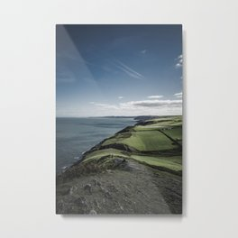 Mwnt Beach (Cardigan, Wales) Metal Print