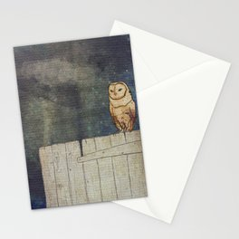 Whoo Goes There? Stationery Cards