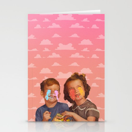 Delicious Candy Stationery Cards