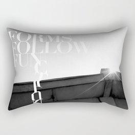 from follow fun Rectangular Pillow