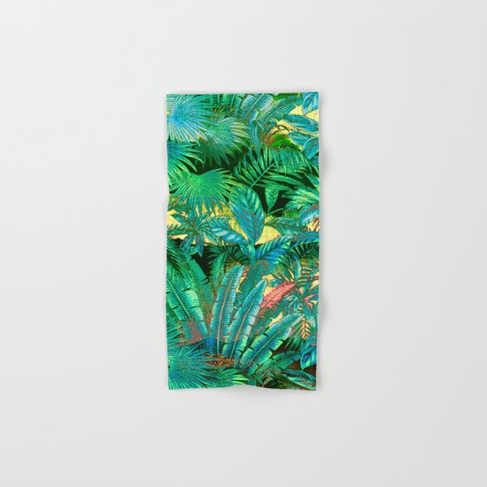 tropical forest Hand & Bath Towel