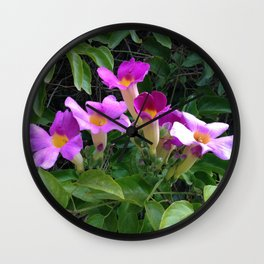 Taking Up the Mantle II Wall Clock
