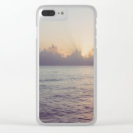 There is a Whale in the Sky Clear iPhone Case