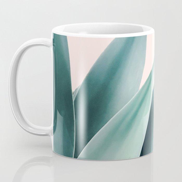 Agave flare II - peach Coffee Mug