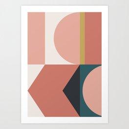 Maximalist Geometric 02 Art Print