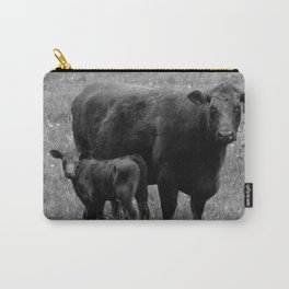 Cow and Baby Carry-All Pouch