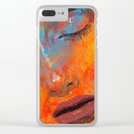 Digital Pain Clear iPhone Case