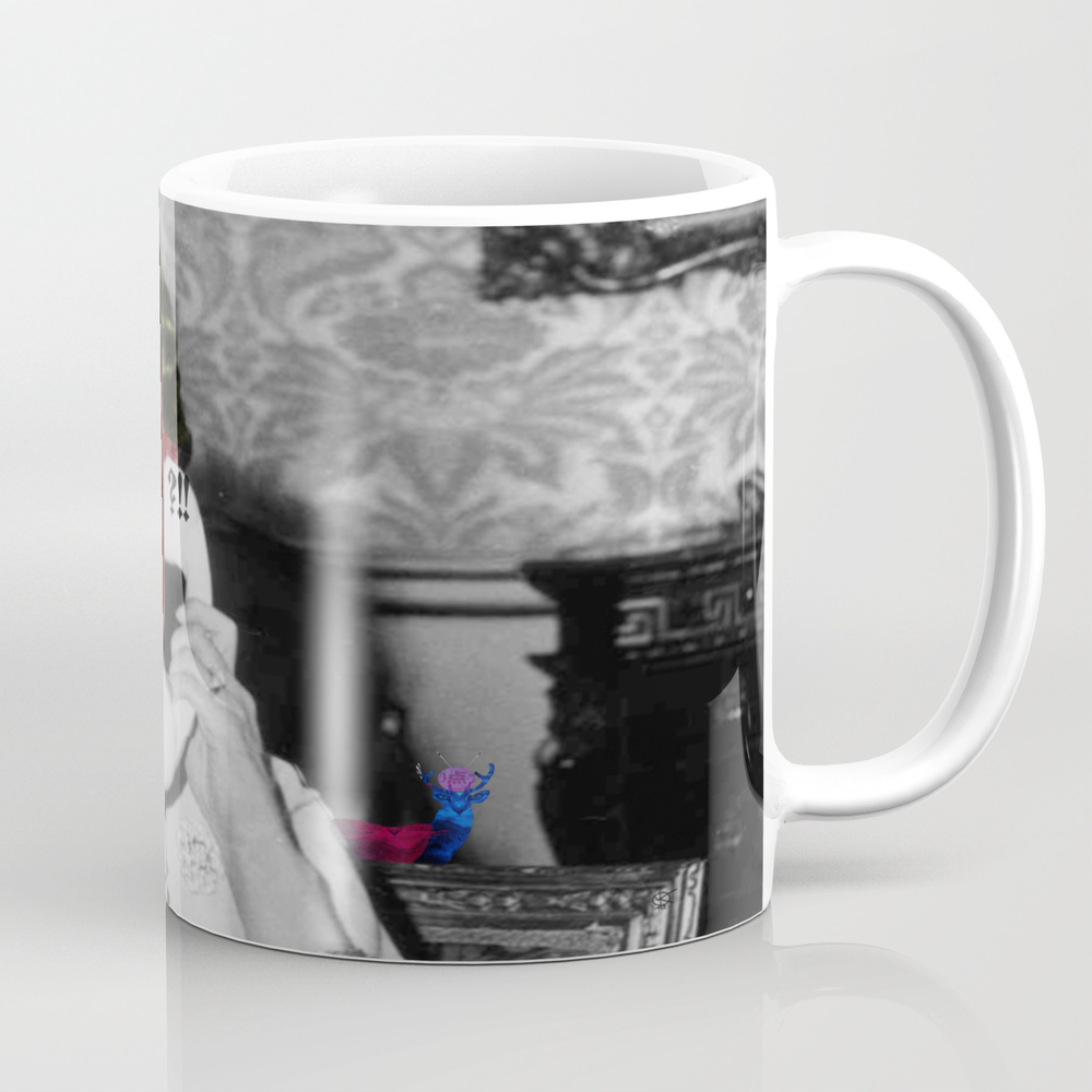 Meat The Queen Coffee Cup by Markokoeppe MUG999966