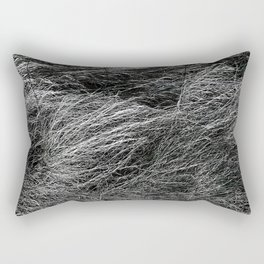 Wavy field in Tuscany Rectangular Pillow