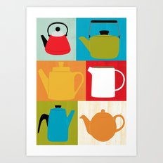 Kettle Collection Art Print