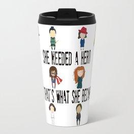 So That's What She Became Travel Mug