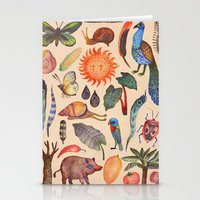 tropical Stationery Cards featuring Tropical by Vladimir Stankovic