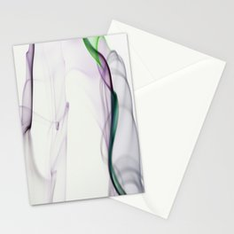 Smoke ribbon Stationery Cards