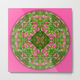Hope Mandala for Precarious Times Metal Print