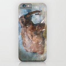 Elephants in watercolour Slim Case iPhone 6s