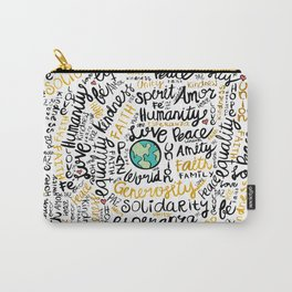 Positive Messages Carry-All Pouch