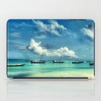 hakuna iPad Cases featuring Hakuna Matata by Anna Andretta