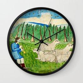 BETHLEHEM PROSPECTUS 4 (Painted Shed) Wall Clock