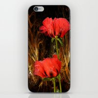 passion iPhone & iPod Skins featuring Passion by LudaNayvelt