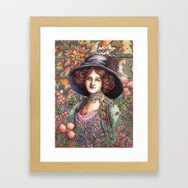 Lily Elsie Framed Art Print