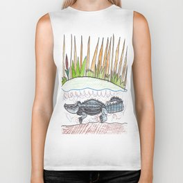 Alligator Swamp Biker Tank