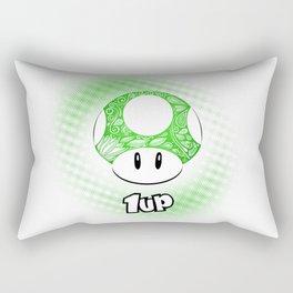 1-UP from Mario Rectangular Pillow