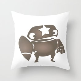 minima - slowbot 004 Throw Pillow
