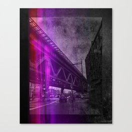Amtrak Across 23rd Ave. Canvas Print