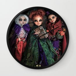 Hocus Pocus Witches Wall Clock