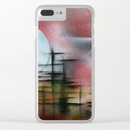 The univers Clear iPhone Case