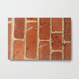 San Francisco Brick Wall Metal Print