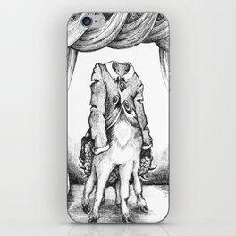 Haunted Clothing- The Coat of a Thousand Young iPhone Skin