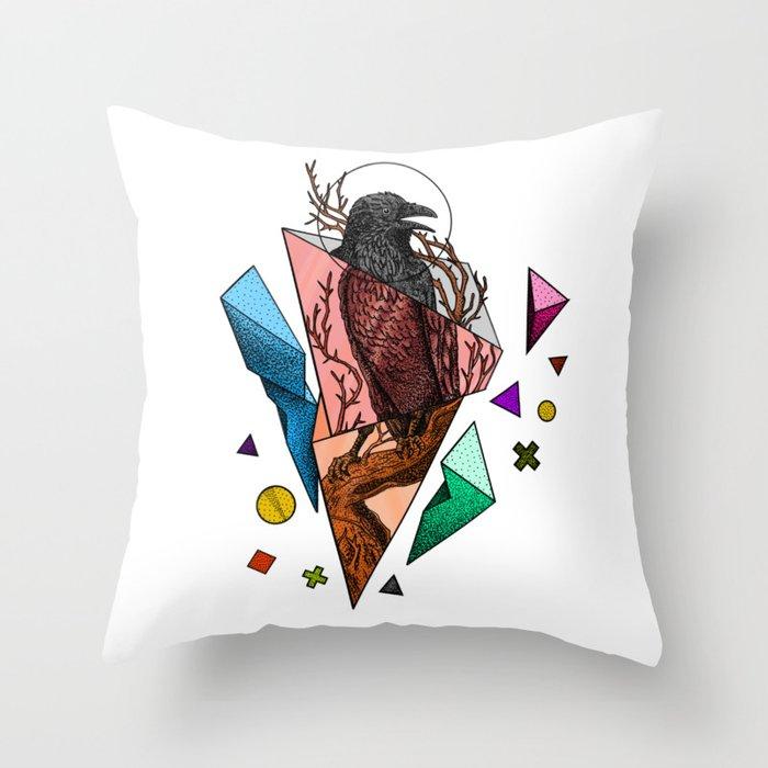 Powerful and fragile Throw Pillow