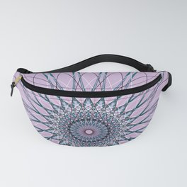 Geometric Star, Abstract Mandala Flower - c14566 Fanny Pack