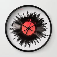 running Wall Clocks featuring The vinyl of my life by Robert Farkas