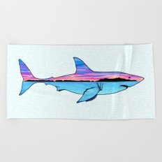 Channel Islands Great White Beach Towel