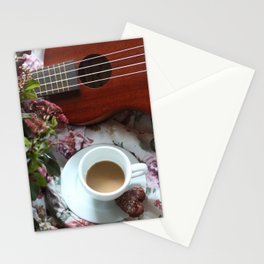 Valentine Ukelele Stationery Cards
