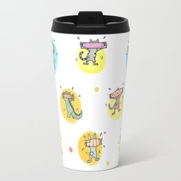 cute animals shaking butts after swimmig, summer is here yay! Travel Mug
