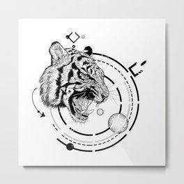 Panthera Tigris Metal Print