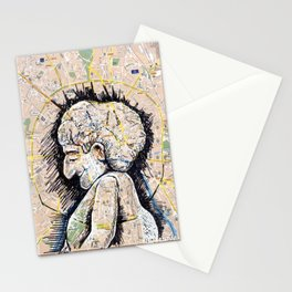 Moscow, Russia Stationery Cards