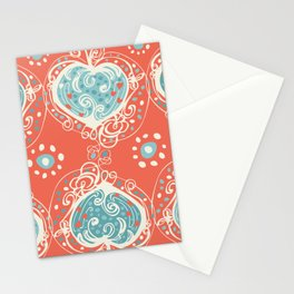 Nordic Heart Stationery Cards