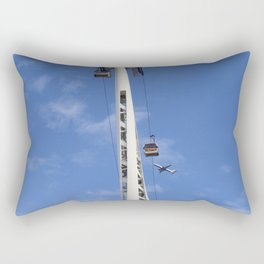 Emirates Cable Car And British Airways Rectangular Pillow